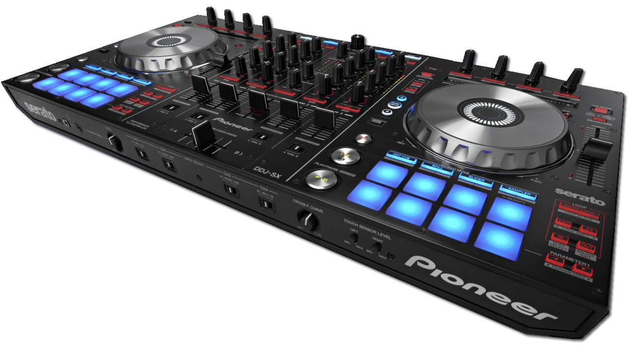 The new Pioneer DDJ-SX for Pioneer DJ software