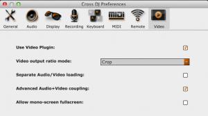 Config MixVibes Video