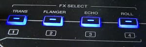 XDJ-Aero FX options