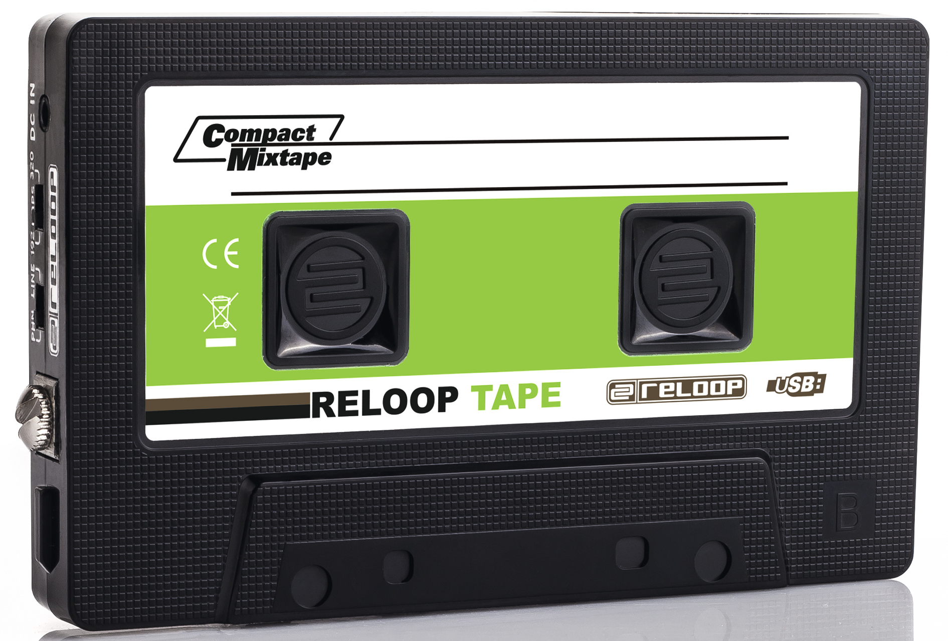 The fun-looking Reloop Tape lets you record your mixes direct to MP3 for easy sharing or uploading.
