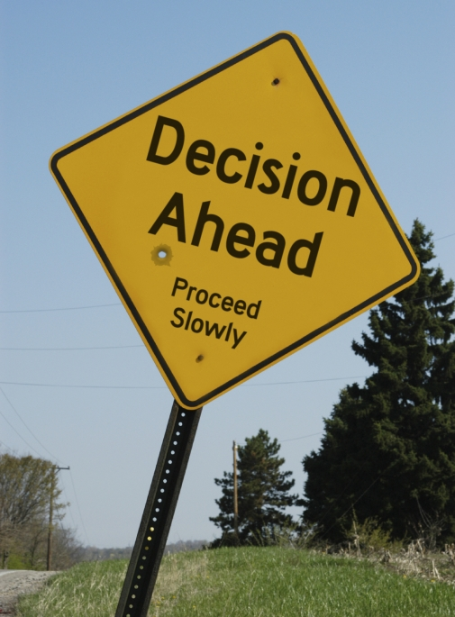 Decision Ahead