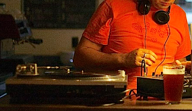 Beer DJ gear