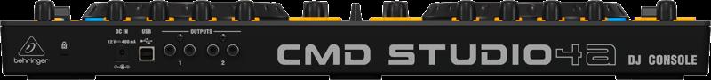 Behringer CMD Studio 4A back panel