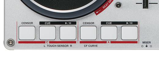 VCI-400DJ four decks