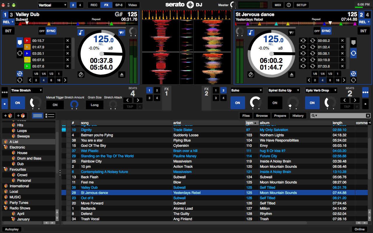 Serato DJ 1.5.0