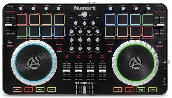 Numark-Mixtrack-Quad-top