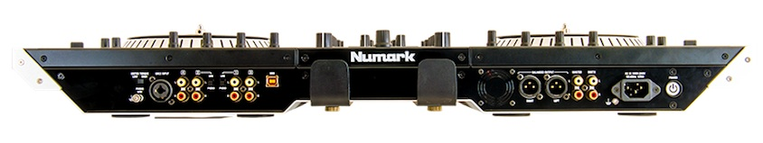 Numark NS7 II rear