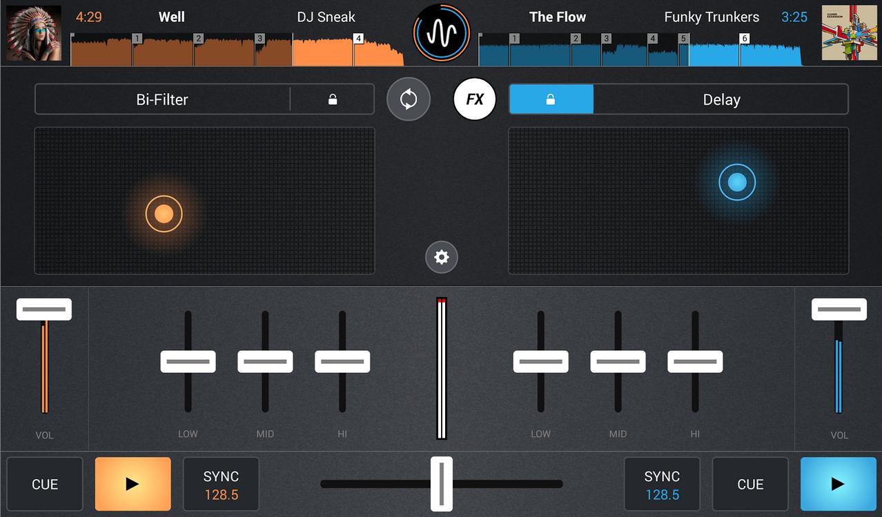 Cross DJ Android FX