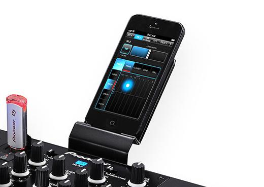 XDJ-R1 smartphone stand