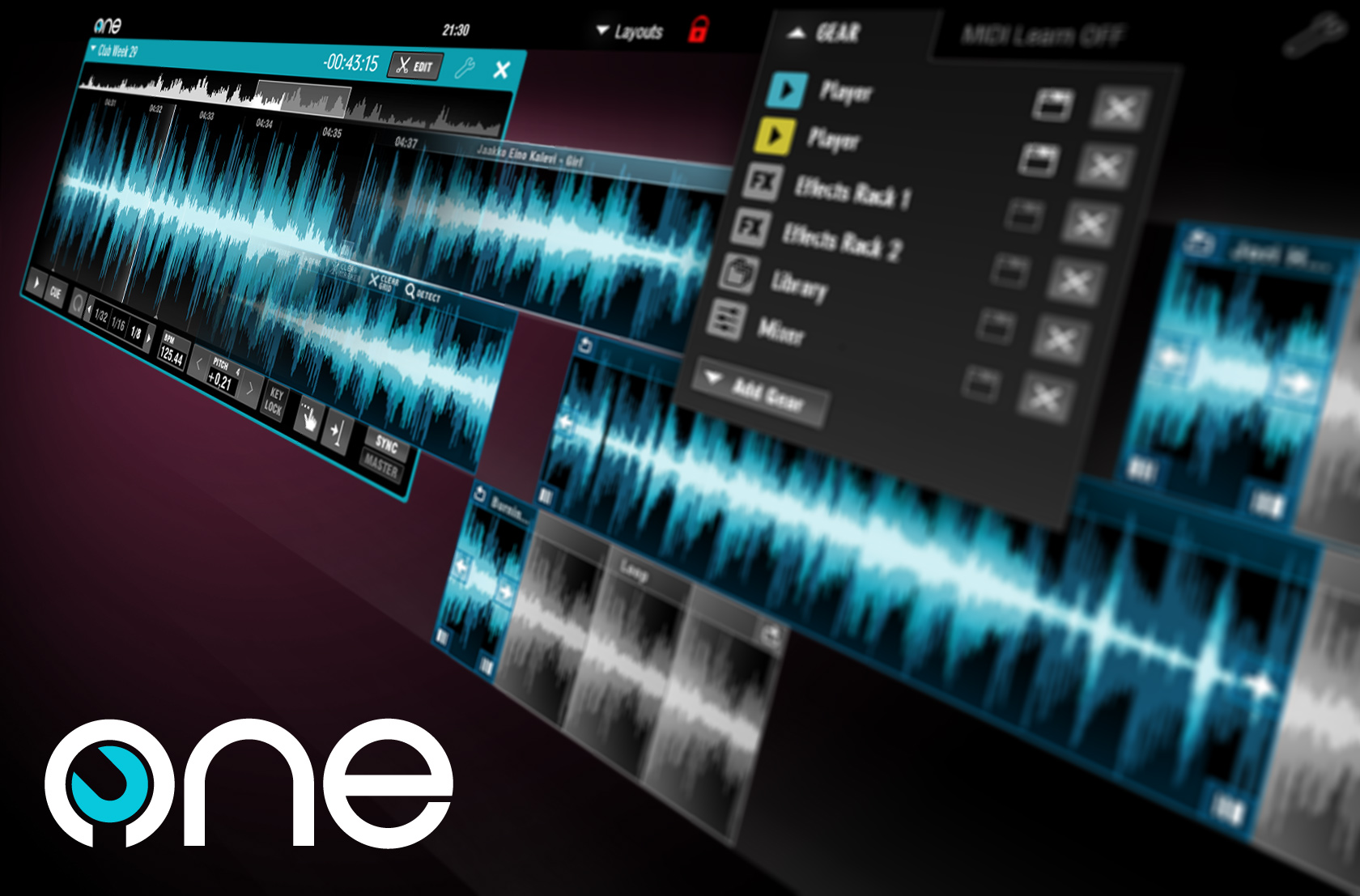 One DJ Free is a lite version of One DJ that lets you try out the software at its most bare bones state without any time limitations.