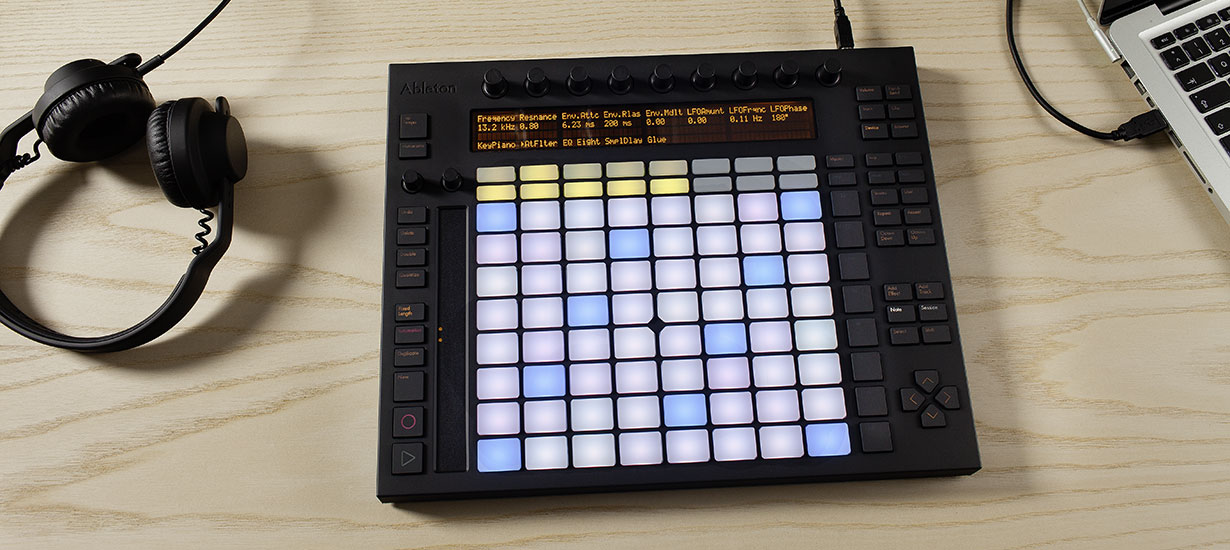 The Ableton Push controller is currently the only controller that gets you this deep and decidedly intimate with Live 9. With all the controllers that have gone before it, none have been as ambitious or complex while retaining Live's fun factor.