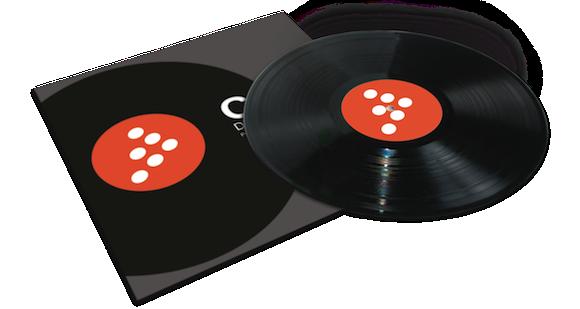 MixVibes DVS vinyl