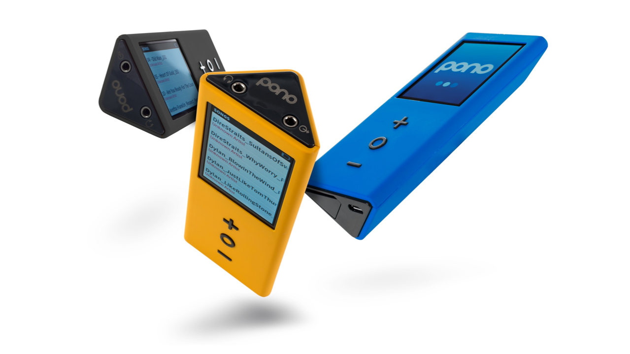 The PonoPlayer promises the highest fidelity audio found on any portable device. Its facade also looks a lot like the 2nd generation iPod Nano.