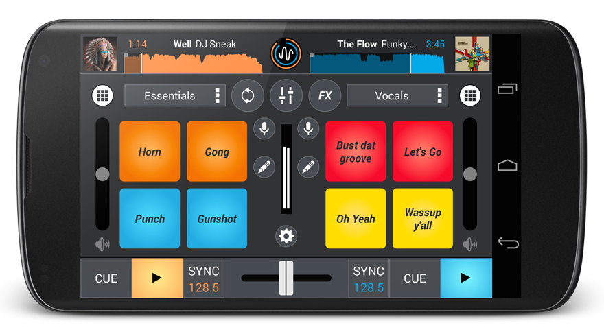 The Cross DJ 1.3 update for Android integrates sample pads into the app, as well as a keylock feature and the ability to edit beat grids.