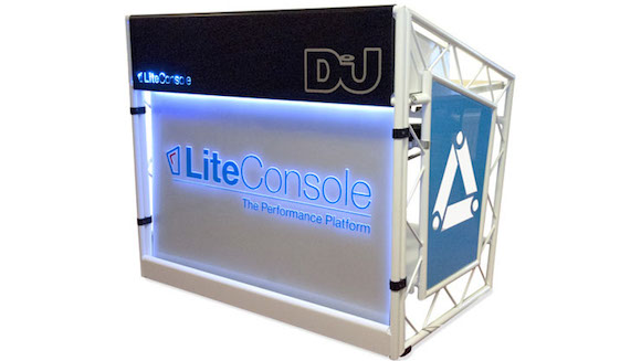 Smart, professional and with lots of ways of getting clever lighting in there, this is an impressive stand.