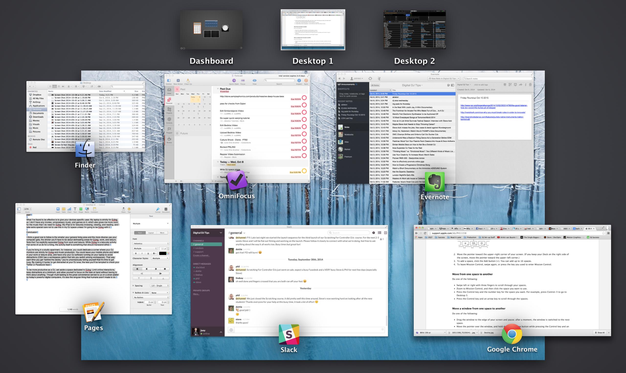 Multi Desktop