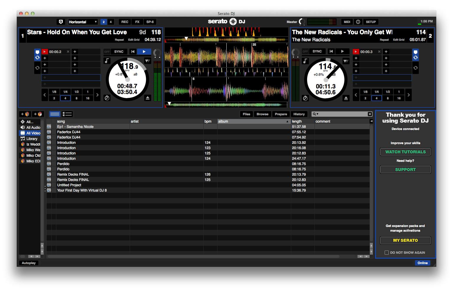 Your first day with serato dj digital dj tips.