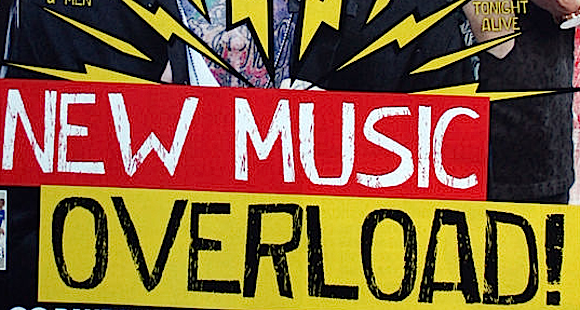 New music overload