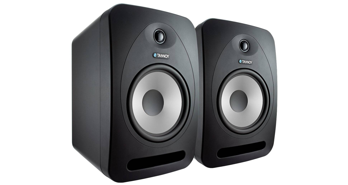 Tannoy Pair Side View