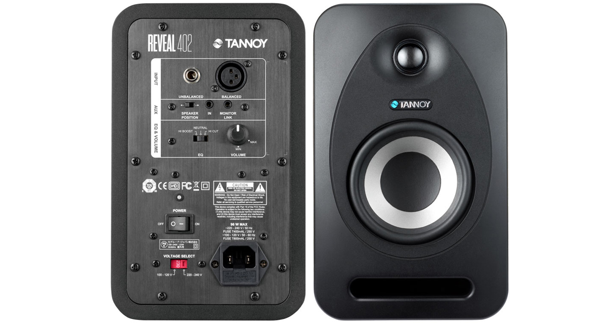 Tannoy 402 Front and Back