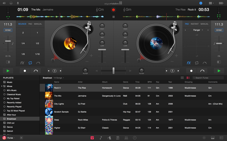 Algoriddim djay Pro For Mac Review - Digital DJ Tips