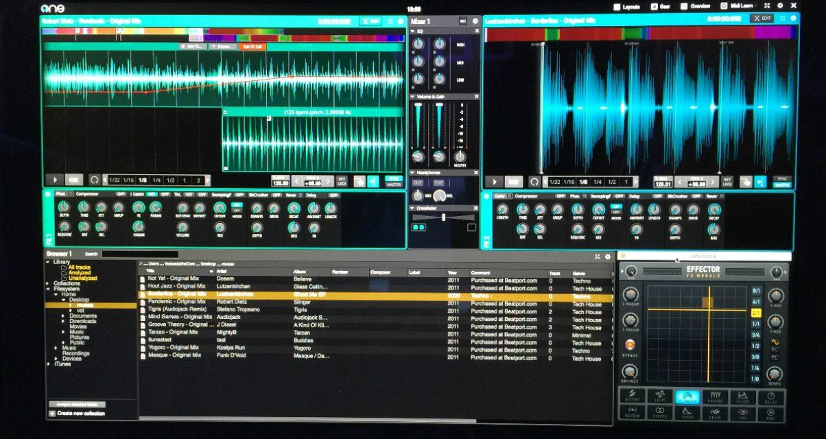 One DJ
