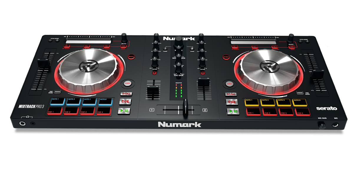 numark mixtrack 3 vs pro 3