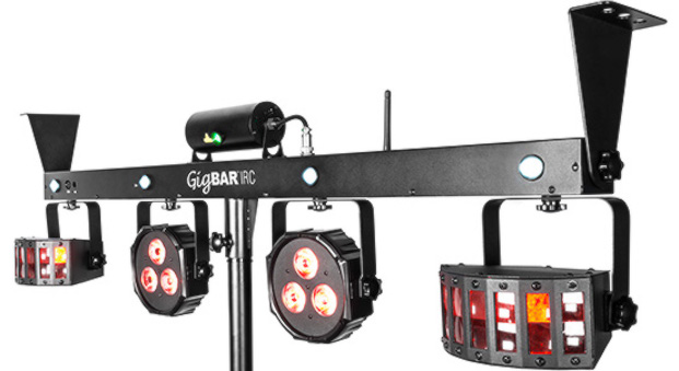 chauvet The Gig Bar IRC would make an ideal first lighting rig for the DJ who wants to own his or here complete set-up as it has an array of effects and is ...  sc 1 st  Digital DJ Tips & NAMM 2015] Chauvet DJ Gig Bar IRC - Digital DJ Tips azcodes.com