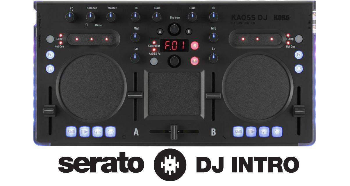 Korg Kaoss DJ Serato DJ Intro