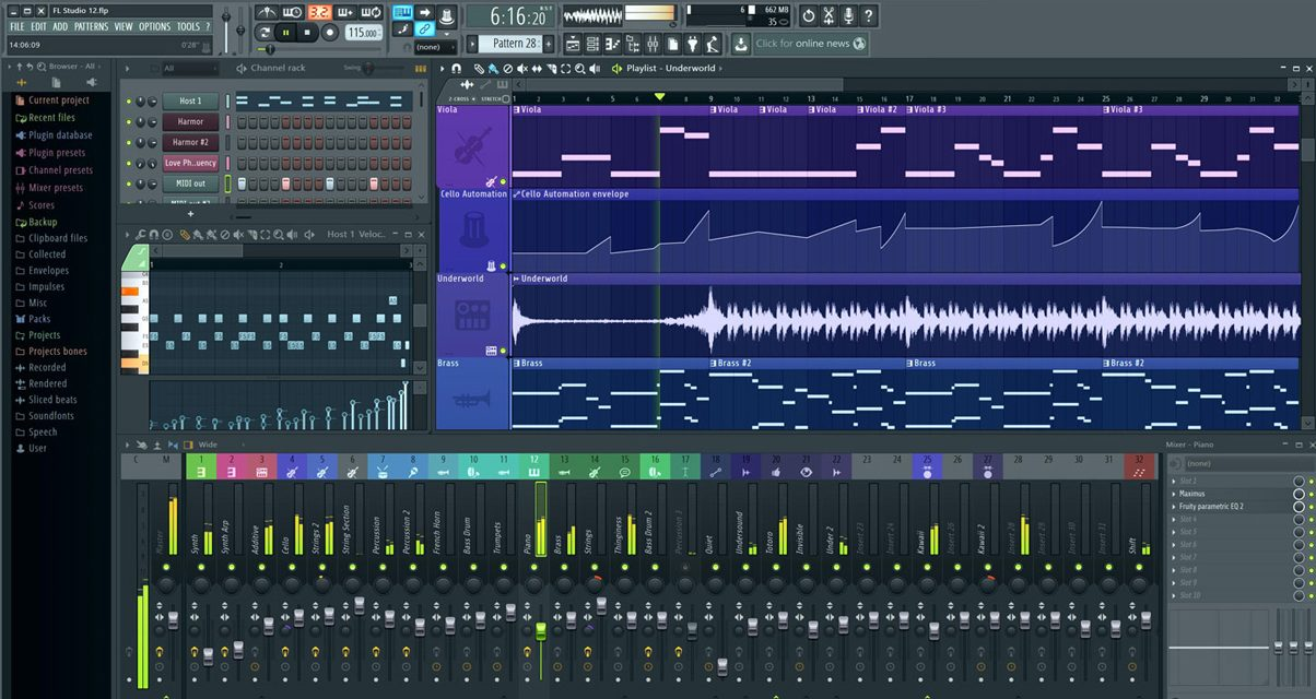 FL Studio 12 Interface
