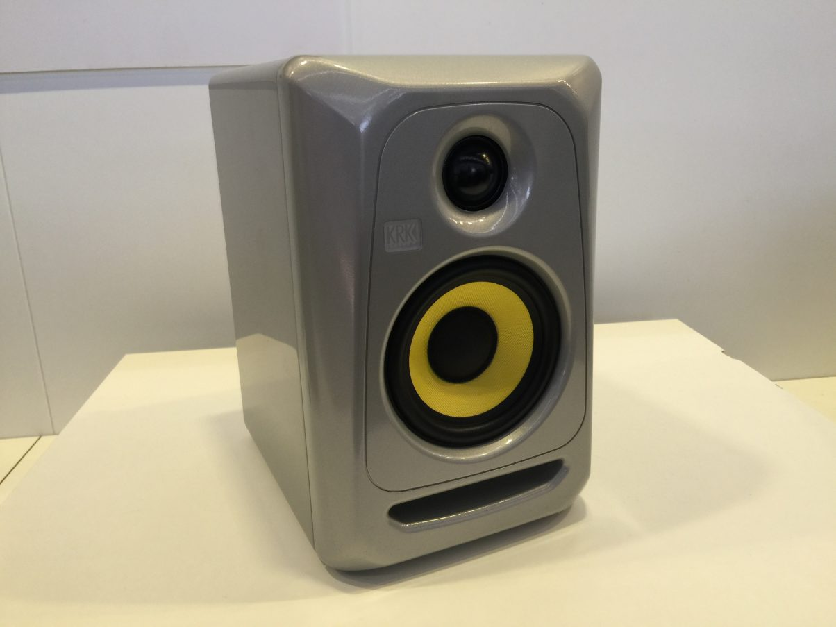 "A new, smaller version of the Rokit monitors, with 4"" woofers, due this summer..."