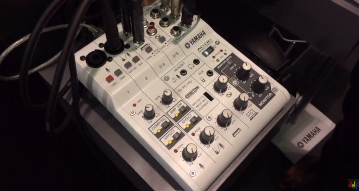 Yamaha AG-06 And AG-03 Mixers