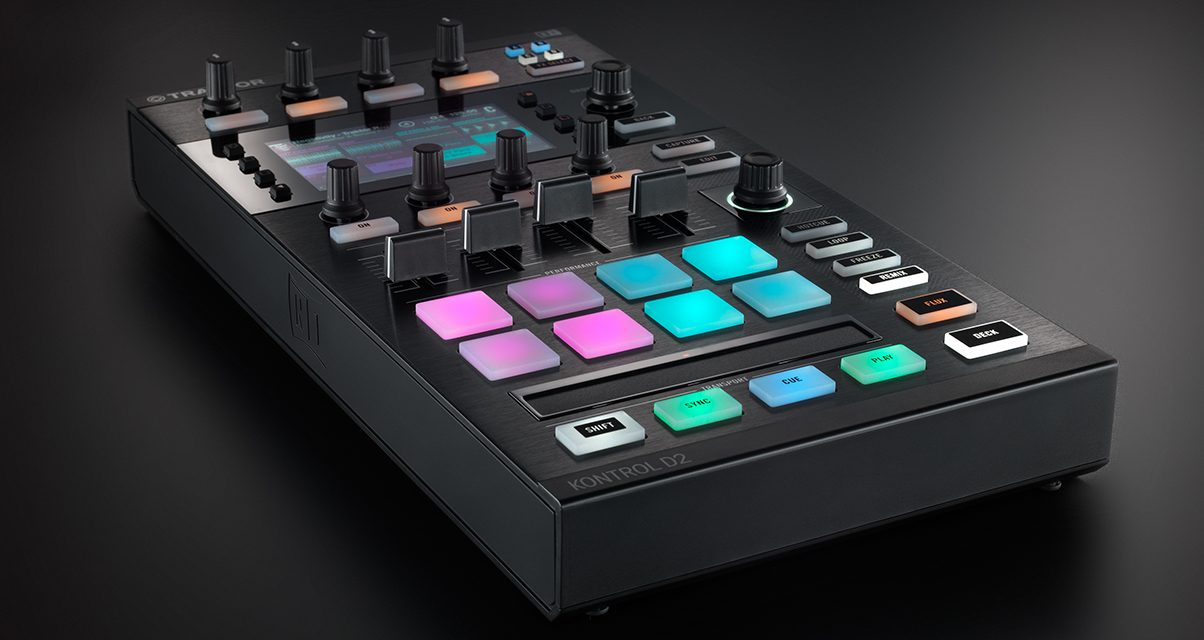 Native Instruments has officially released its Traktor Kontrol D2 modular controller.