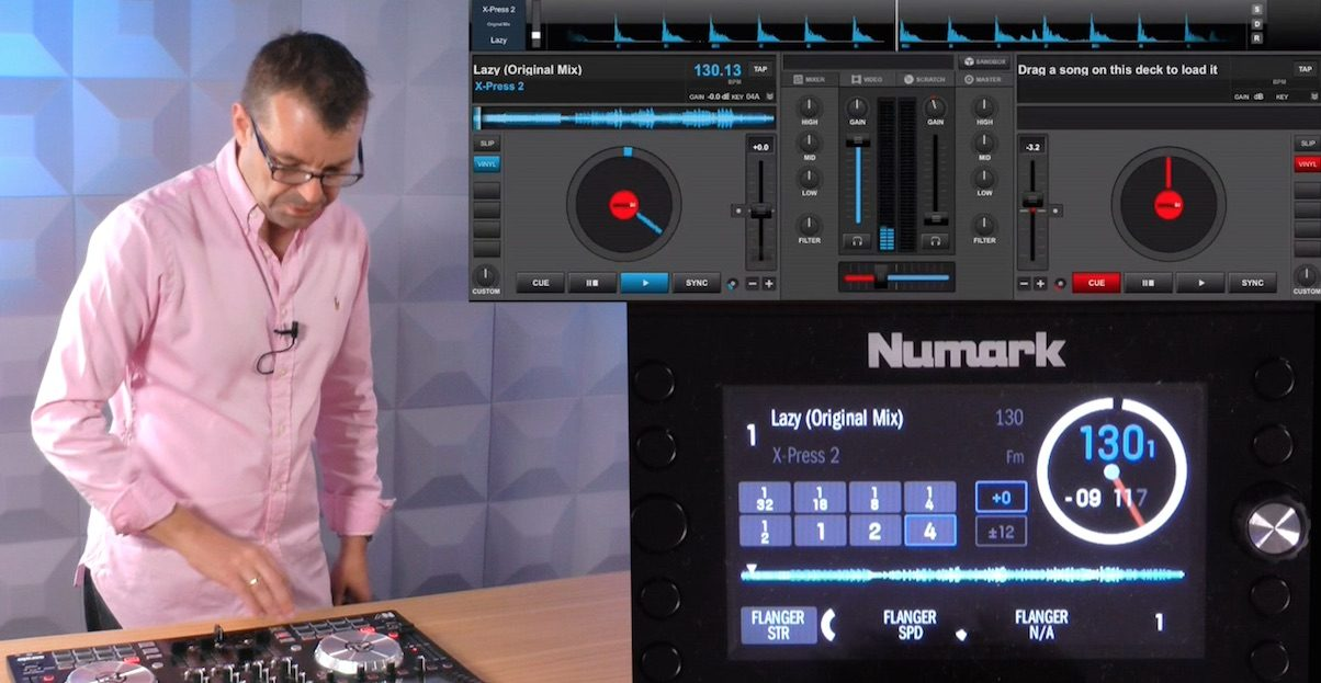 We've discovered that the Numark NV Serato DJ controller also works fine with Virtual DJ, even down to the screens working pretty much in exactly the same way.