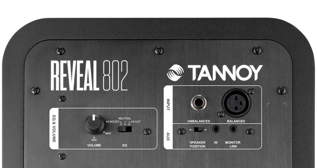 Tannoy 802 Rear
