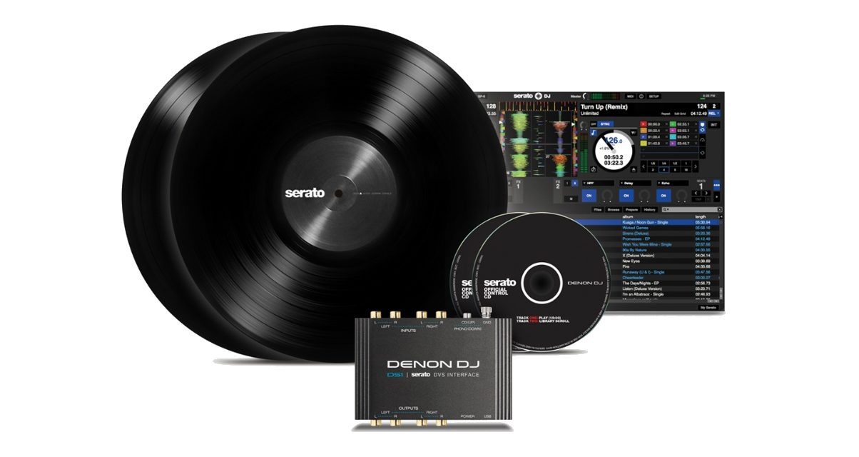 Denon DJ DS1 Package