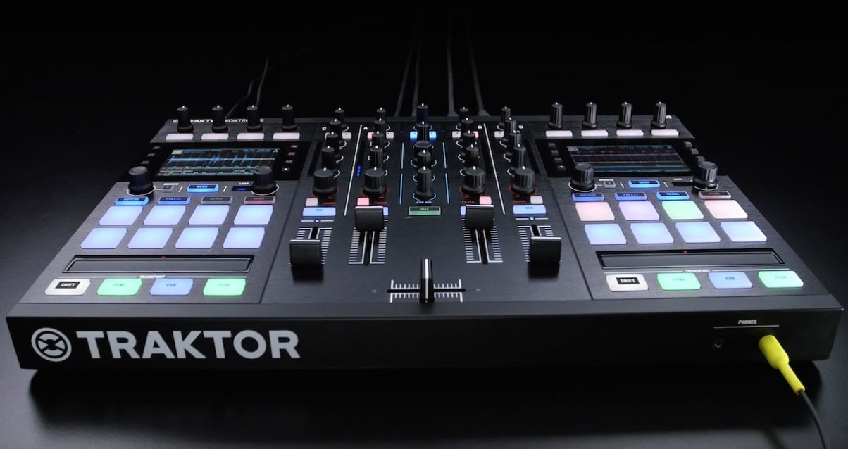 Native Instruments just officially launched its latest Stems-compatible controller the Traktor Kontrol S5.