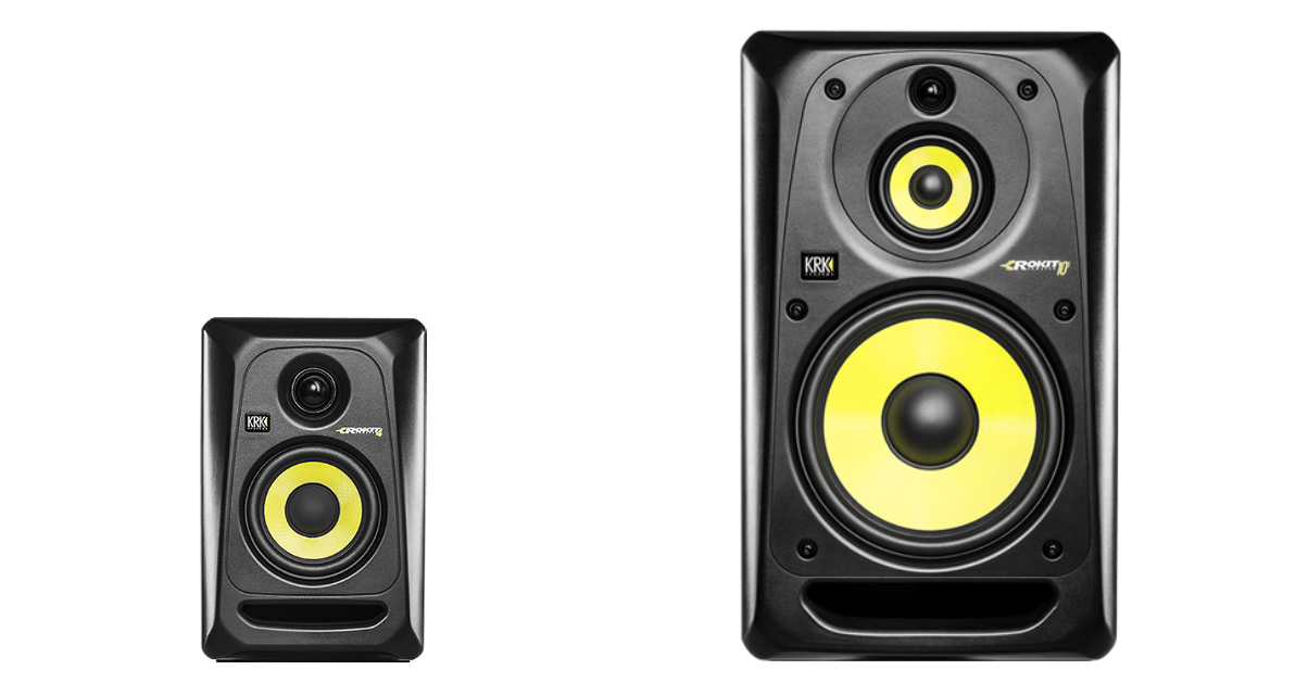 krk launches rokit 4 g3 rokit 10 3 g3 monitors. Black Bedroom Furniture Sets. Home Design Ideas