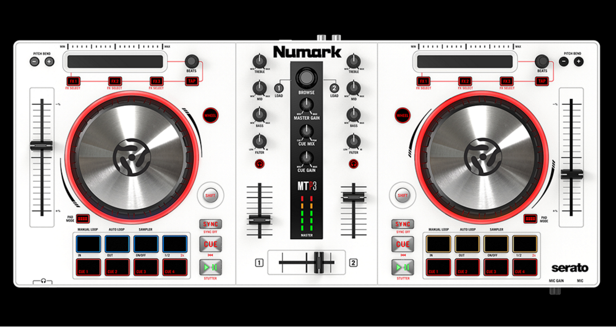 numark mixtrack pro 3 now in white digital dj tips. Black Bedroom Furniture Sets. Home Design Ideas