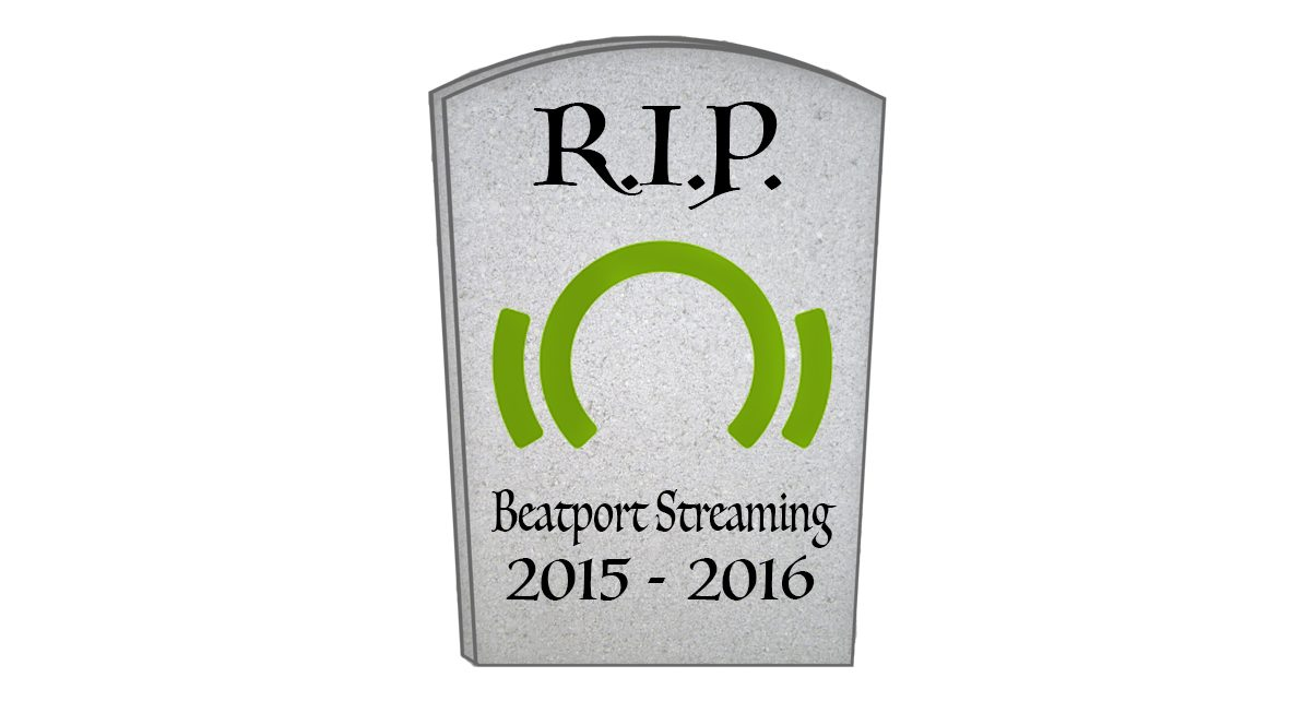 Beatport just announced the closing of its Beatport Streaming service and mobile app.