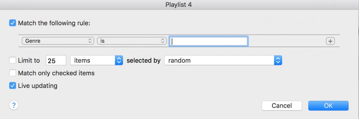 Smart Playlist 4