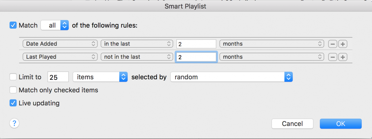 Smart Playlist 3