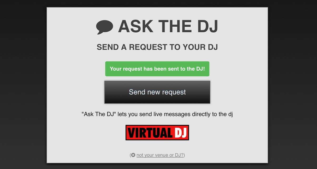 Ask The DJ