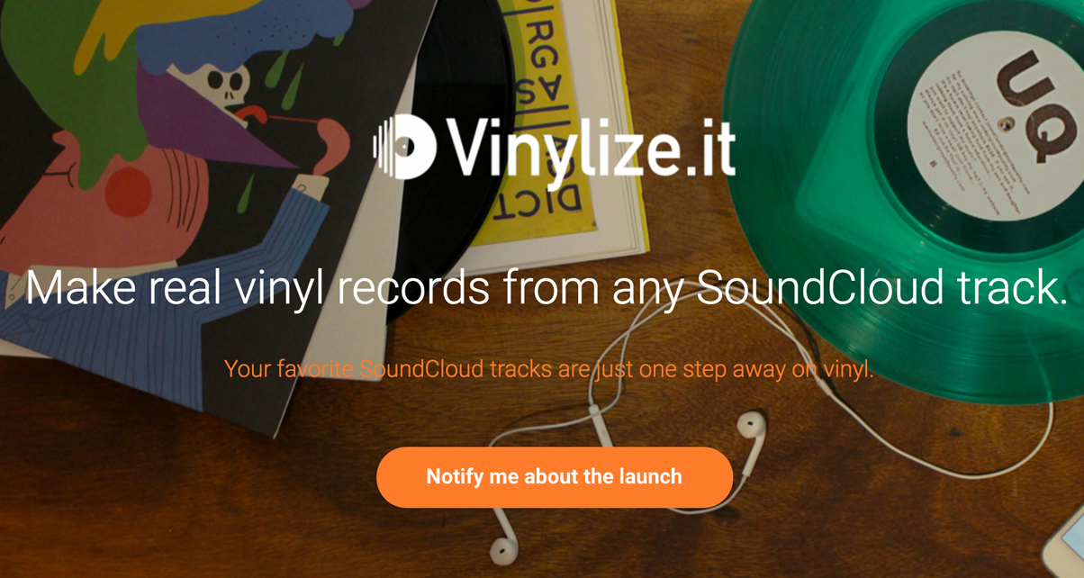 Turn Any Soundcloud Song Into A Record With Vinylize It