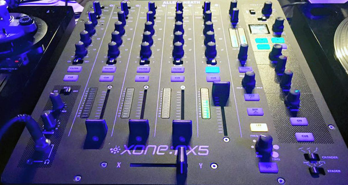 Allen & Heath Xone:PX5 Mixer Teased - Digital DJ Tips