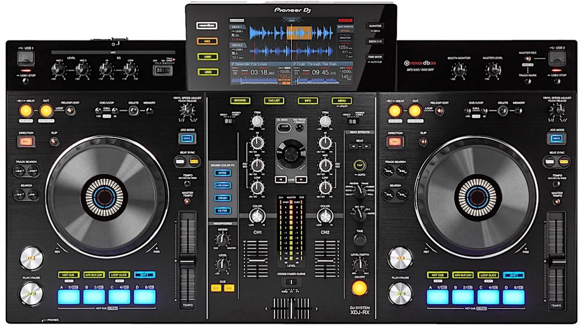 pioneer 39 s xdj rx now comes with rekordbox dj free. Black Bedroom Furniture Sets. Home Design Ideas