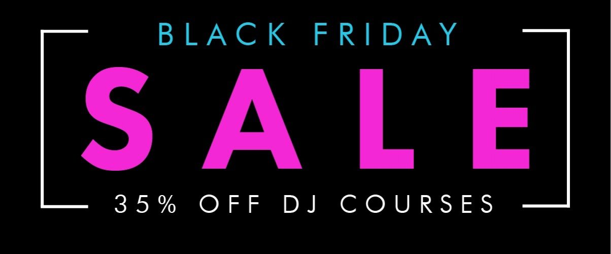 What's big and pink and comes just once a year? It's the Digital DJ Tips Black Friday Sale, of course.