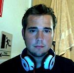 """Jake Wilson (""""DJ Wired""""), West Lafayette, Indiana, USA."""