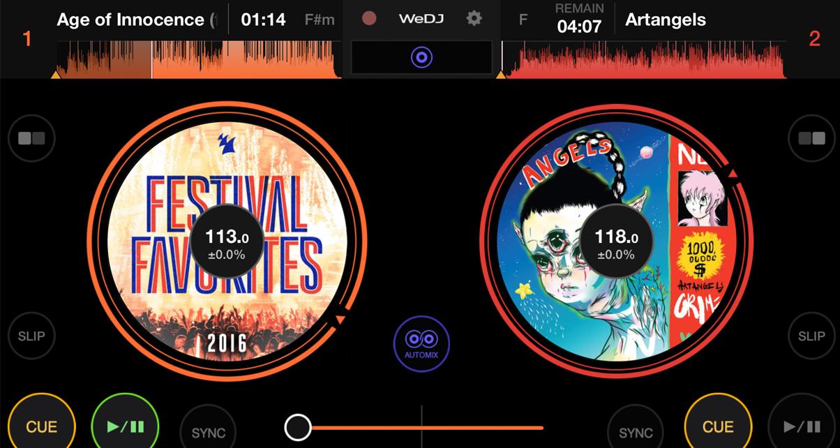 Pioneer DJ WeDJ For iOS Review - Digital DJ Tips
