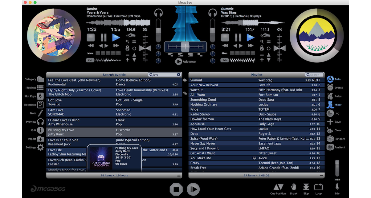 MegaSeg First DJ App To Play Apple Music Tracks From iTunes